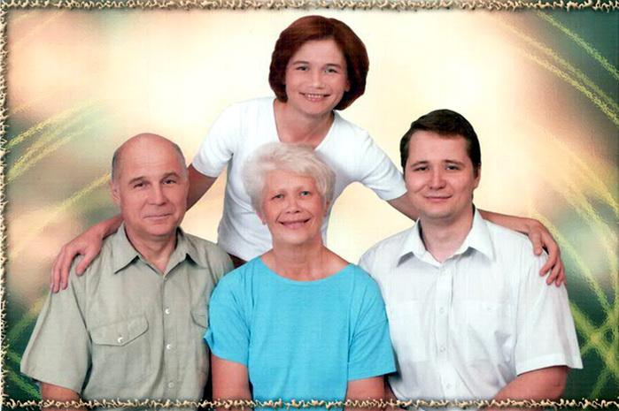 Семья Кондратьевых