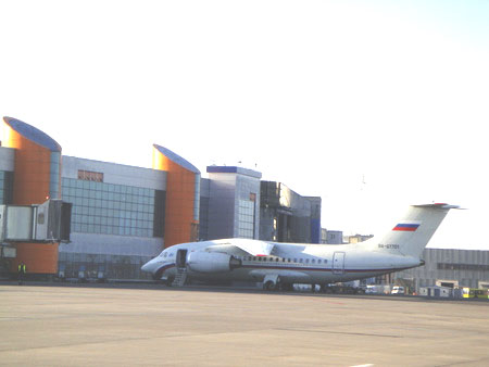 Ждет гостей воздушные ворота Калининграда аэропорт Храброво